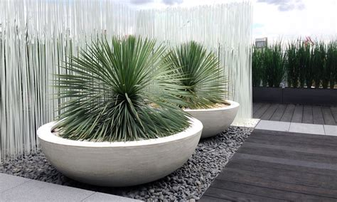 planters outstanding contemporary planters cylinder