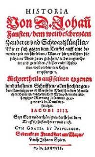historia von d johann fausten chapbook wikipedia