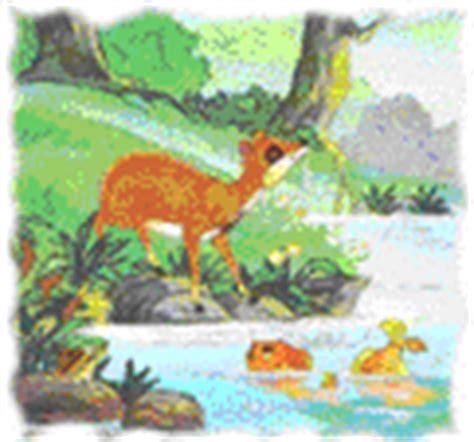 membuat puisi kancil dongeng binatang si kancil kena batunya