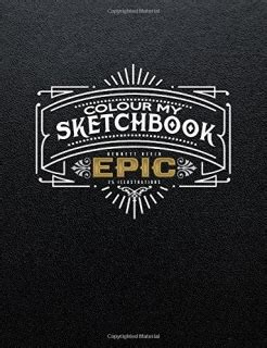 libro colour my sketchbook epic omalov 225 nky pro dospěl 233