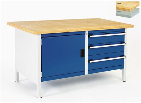 Storage Bench With Drawers Storage Bench With Cupboard And 3 Drawers 1500mm Wide Bott Workplace
