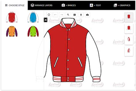 online varsity jacket design maker custom made varsity jacket eraine