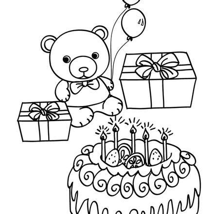 custom happy birthday coloring pages personalized happy birthday coloring pages