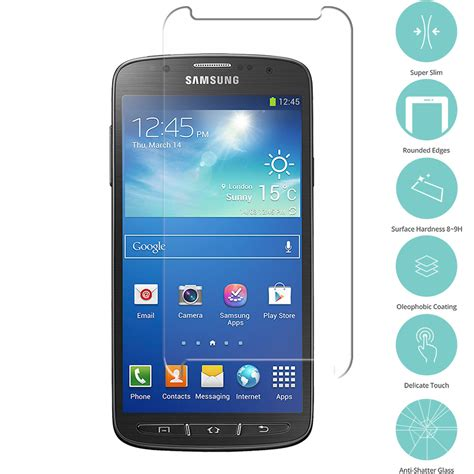 Tempered Samsung Gal Grand Prime samsung galaxy s4 active i537 clear tempered glass