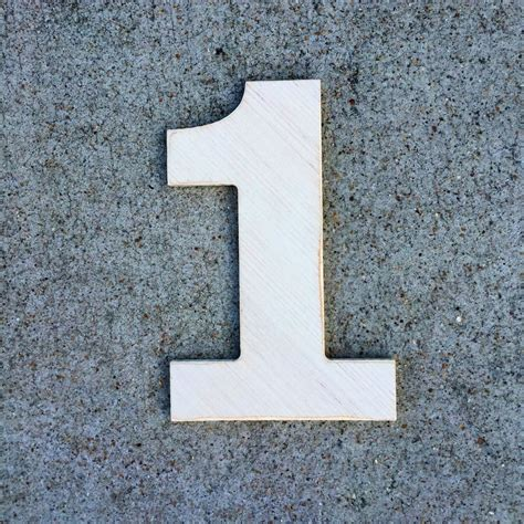 12 inch wooden numbers wood number 1 number 2 number 3