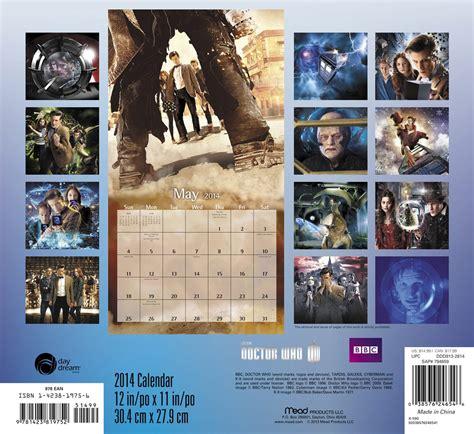 Doctor Who Calendar Doctor Who 2014 Wall Calendar
