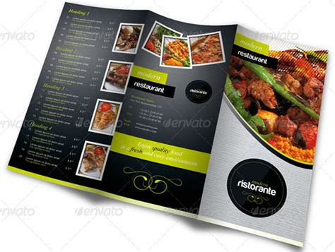 menu card design templates watering restaurant menu designs entheos