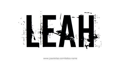 leah tattoo designs name designs names designs