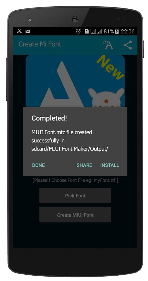 miui themes maker miui font maker font2mtz 187 apk thing android apps free