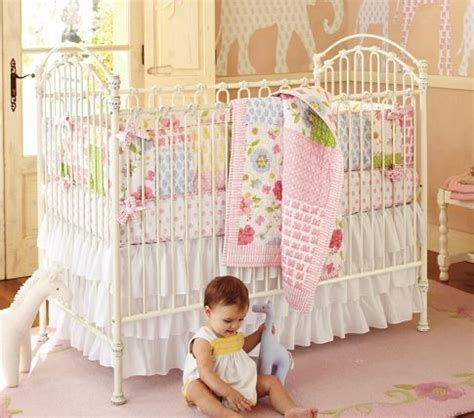 Pottery Barn Baby Cribs Such A Pretty Crib Vintage Look Made Of Iron Cool Bad We Already A Beautiful Crib