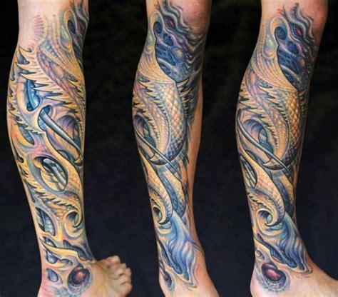 biomechanical tattoo aaron cain biomechanical tattoos and designs page 47