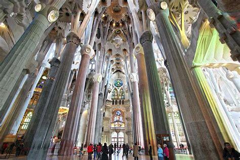 Interior Sagrada Familia by Photo Interior Of Sagrada Familia Cathedral In Barcelona