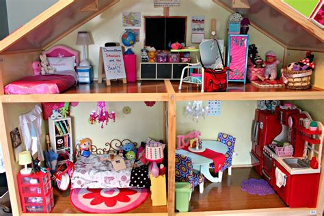 girl doll house huge american girl doll house tour updated 2015 youtube