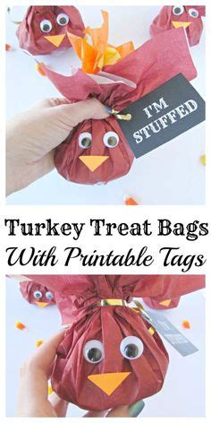 turkey lollipop printable turkey treat bags with printable tags printable tags
