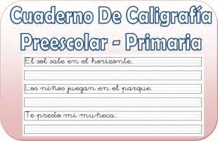 cuaderno caligrafia primer grado cuba cuaderno de caligraf 237 a para preescolar y primaria