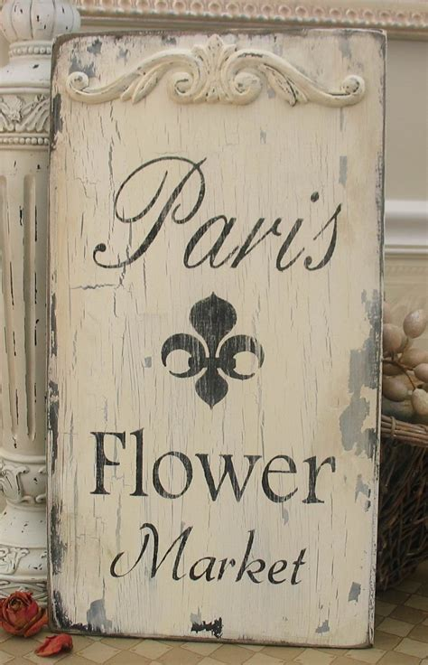 paris flower market french market sign paris apartment