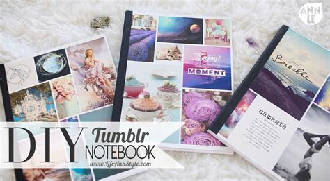 tumblr rooms diy book covers diy tumblr notebook back to school hack ann le youtube