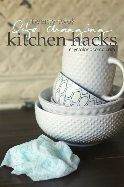 22 Kitchen Hacks You Need To 22 Changing Kitchen Hacks Crystalandcomp