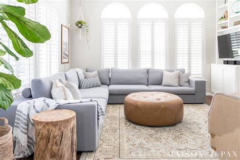 small living room ideas with sectional sofa designing a small living room with a large sectional