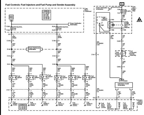 fuel injector wiring diagram stunning 02 buick
