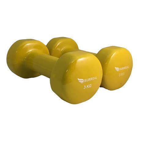 weights dumbbells vinyl dumbells set home fitness
