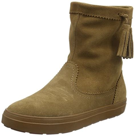 crocs s lodge point suede pull on winter boot