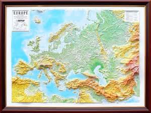 3d raised relief map of europe 163 185 00 cosmographics ltd