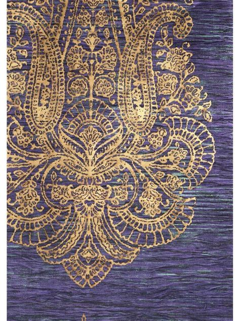 wallpaper gold embossed pin by coqui de vicente on paisley pinterest photos