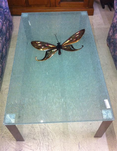 coffee tables ideas best shattered glass coffee table for