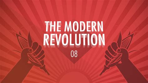 httpwww meetup comrevolutionaries the modern revolution crash course big history 8 youtube