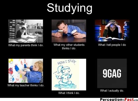What My Parents Think I Do Meme - studying what people think i do what i really do