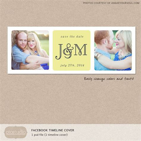 save the date facebook timeline cover template photo
