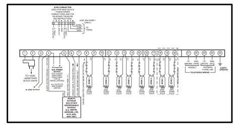 ademco vista 10se wiring diagram ademco vista 1990s alarm