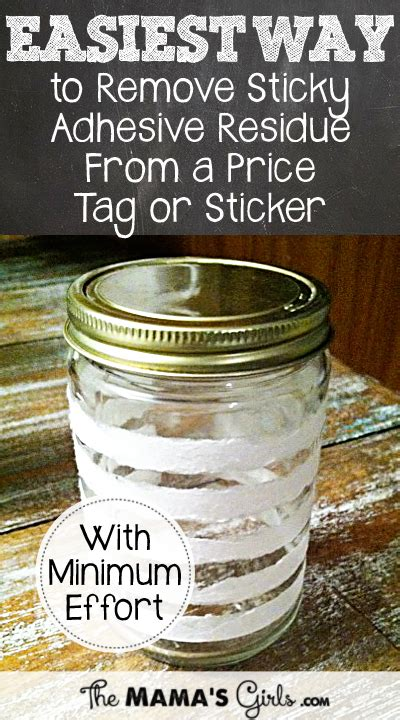 How To Get The Sticky Stuff From Stickers Glass