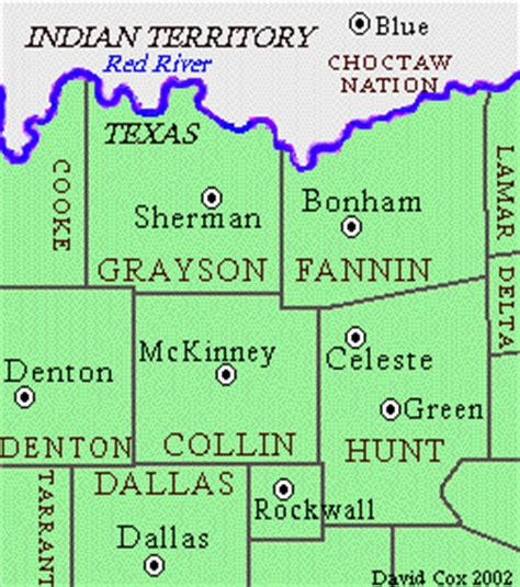 northern texas map northern texas map