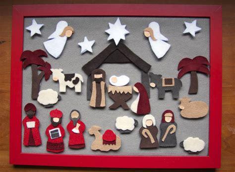 how to make felt nativity advent calendar n stitches nativity advent with felt
