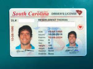 Drivers License South Carolina Driver S Licenses Don T Blink