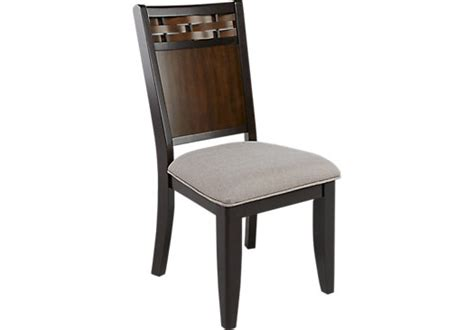 Dining Room Chairs Cherry by Bedford Heights Cherry Side Chair Transitional