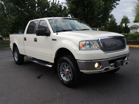 2007 ford f150 crew cab 2007 ford f 150 lariat crew cab 4x4 leather bed