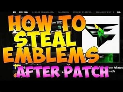 after patch black ops 2 how to emblems ps3xbox black ops 2 how to emblems after 1 19 patch updated