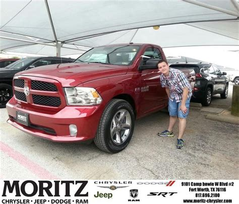 Moritz Chrysler Jeep Dodge Congratulations To Shane Delorantis On Your Ram 1500