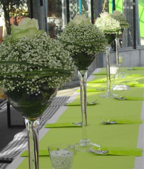 Edle Tischdeko Hochzeit by Edle Tischdeko In Gr 252 N Wei 223 Garten Und Co