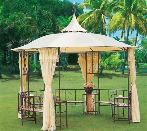 Outdoor Gazebo Curtains » Home Design 2017