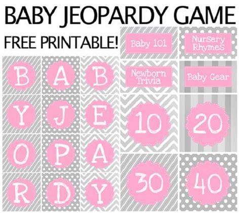 Baby Shower Jeopardy by Baby Shower Jeopardy Baby Shower Jeopardy Nursery Rhymes Are Popular And Still
