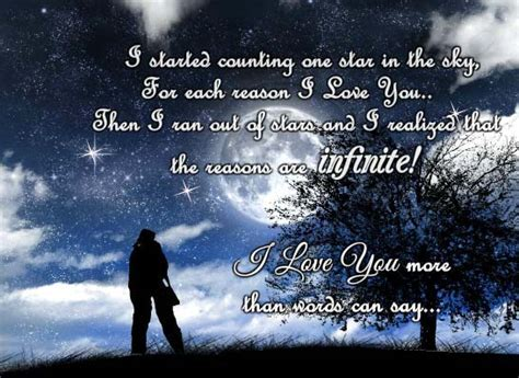 I Love You More Than Words Can Say! Free I Love You eCards