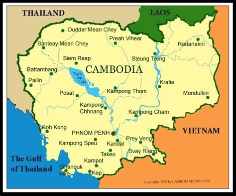 map of cambodia brigade spreads in cambodia connected