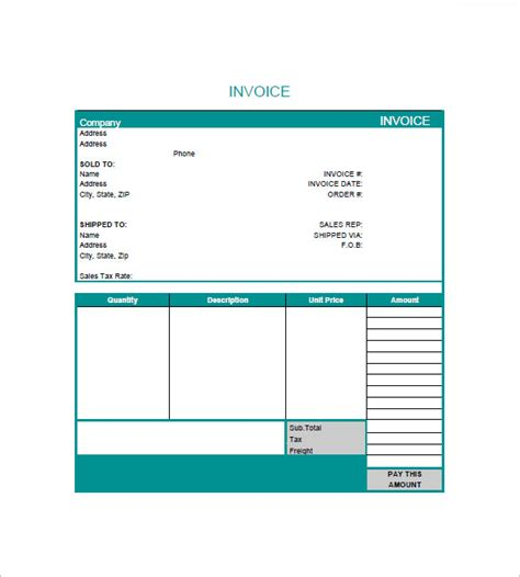 graphic design invoice template graphic design invoice templates 8 free word excel