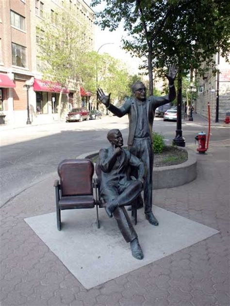 Garden Statues Winnipeg by Royal Manitoba Theatre Centre Sculpture Winnipeg