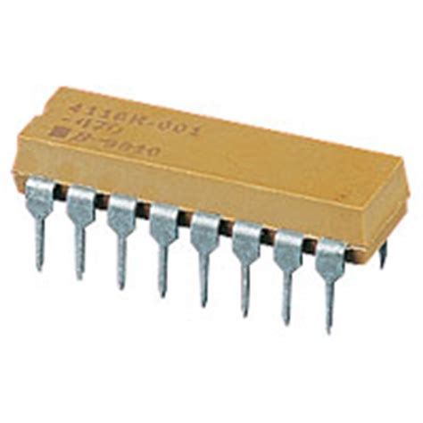 what is a dip resistor bourns 1k resistor dil network rc review compare prices buy
