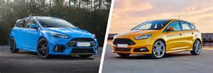 Ford Focus St Vs Rs 2018 Ford Focus Rs Vs St 10 Autosdrive Info